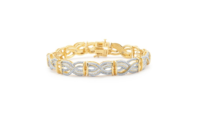 18K Yellow Gold 0.25 cttw White-Diamond (IJ jG6cB