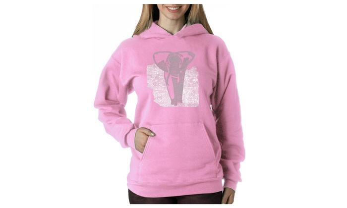 Women's Hooded Sweatshirt -ELEPHANT