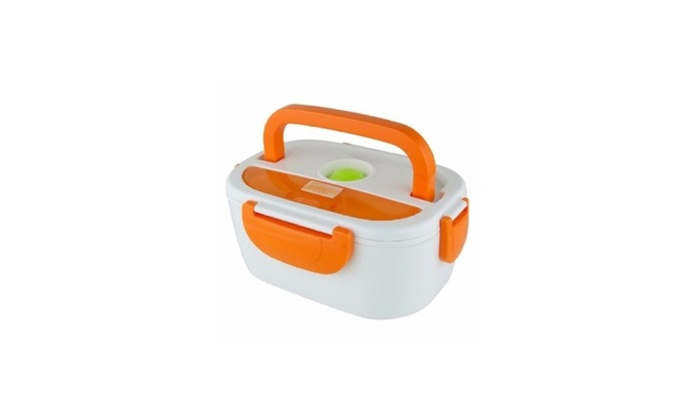 Portable Electric Heated Food Warmer Box Container Lunch Hot Meal