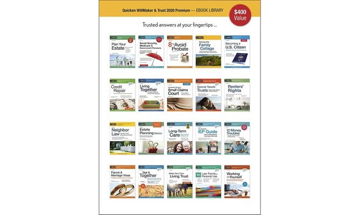 Quicken Home And Business 2020 Download.Quicken Willmaker Trust 2020 Premium Disc Download