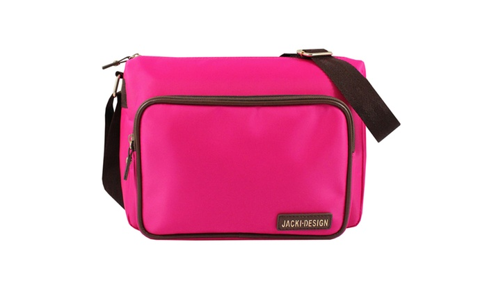 Jacki Design Essential Messenger Bag - Hot Pink