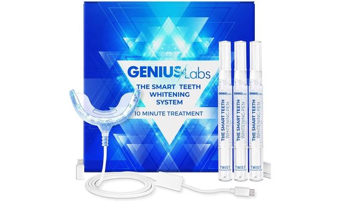 Up To 44 Off On Genius Teeth Whitening Kit 1 Groupon Goods