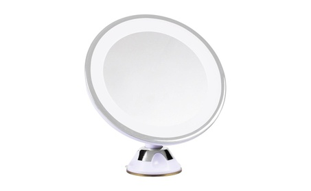 Topeakmart Magnifying Bathroom Makeup Mirror Illuminated LED 7x Light 210f831d-7356-4837-876a-c298282b806e