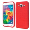 Insten Rugged Rubber Case For Samsung Galaxy Grand Prime Red