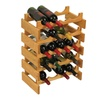 Wooden Mallet Bar Accessories 20 Bottle Dakota Wine Rack