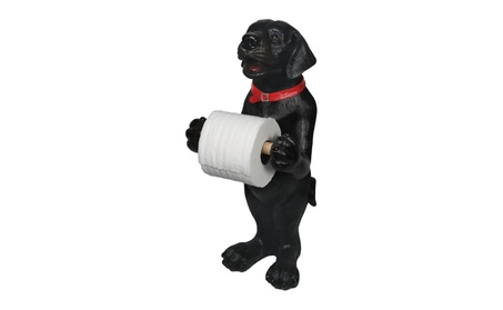 River's Edge Products Black Lab Standing Toilet Paper Holder 807 9e55f247-7476-4155-8b2f-3b54503328ee