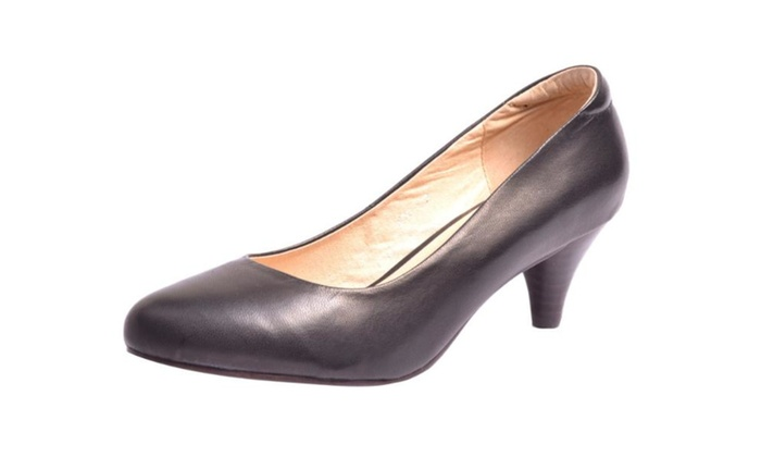 Women's Simple Pull on Platform Shoes