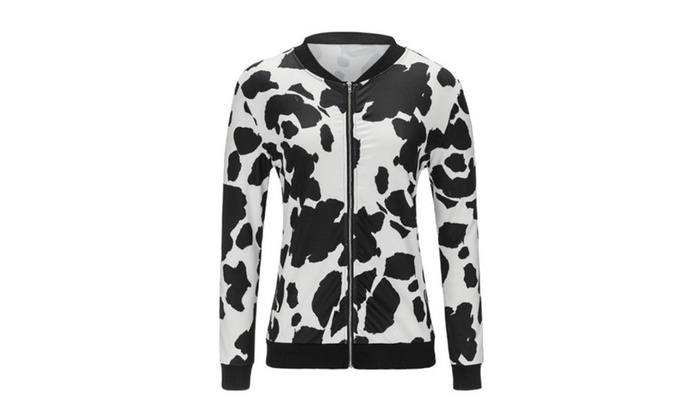 Women's Colorblock Graphic Breathable Casual Nylon Coats