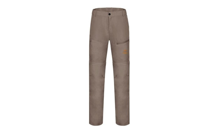 Women's High Rise Long Simple Fashion Slim Fit Trousers - Khaki / One Size