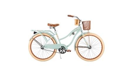 "24"" Huffy Women's Nel Lusso Cruiser Bike, Mint, Wire Basket 8d95a11b-29f6-4a24-ae35-c803230e6847"