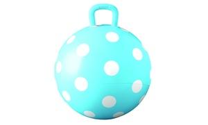 Hedstrom Blue Polka Dot Hopper Ball