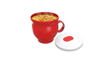 New Portable Micro-Mug For Soup Noodles And Hot Drinks