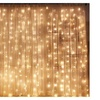 LED Window Curtain Icicle String Fairy Lights ,8 Modes,Waterproof
