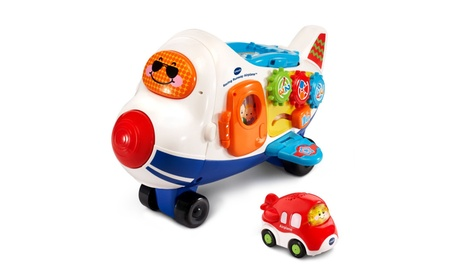 VTech Go! Go! Smart Wheels Racing Runway Airplane 4d6f998b-3543-477d-a628-a7198f3b5ef0
