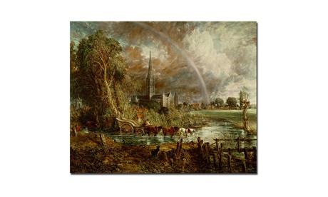 John Constable 'Salisbury Cathedral' Canvas Art 10805e1c-d696-4e88-83ff-75af3dd2e62a
