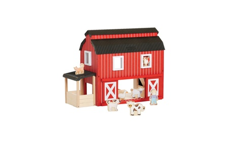 Guidecraft Kids Play Big Red Barn House 94edaa7f-7d1c-4fbe-8cc4-2b584af89193