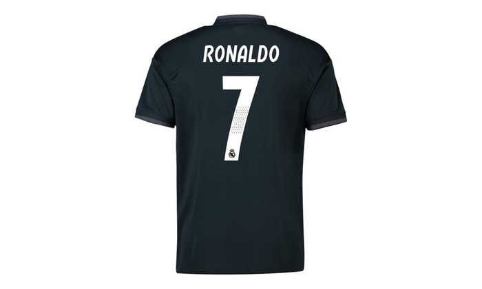 reputable site 52b02 86c19 2018-19 Real Madrid Away Football Soccer T-Shirt Jersey (Cristiano Ronaldo  7) -