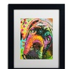 Dean Russo 'Old Droopyface' Matted Framed Art