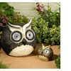 Smart Solar 3563WRM2 Solar Owl Accent, 12-Inch by 5-Inch, Set of 2
