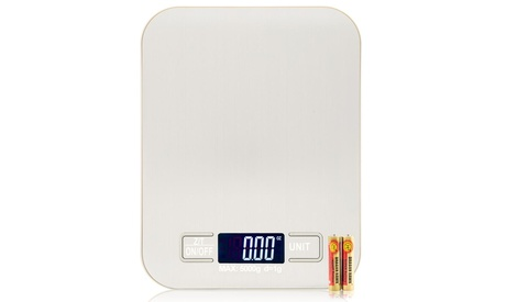 5KG/1G Kitchen Food Scale Stainless Steel LCD Kitchen Scale