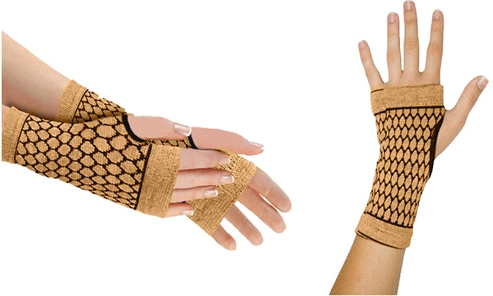 e1239c41fc SNT Bamboo & Charcoal Self-Heating Carpal Tunnel Wrist Compression ...