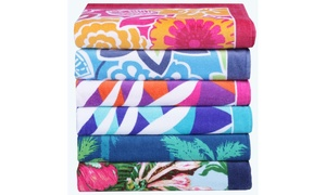 "Panama Jack 100% 34"" x 63"" Cotton Printed Beach Towels"