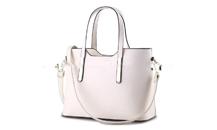 4a0313e829809 Up To 89% Off on Women Leather Handbag Cross B... | Groupon Goods