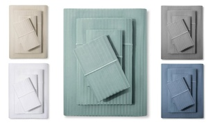 500TC 100% Egyptian Cotton Fifth Ave Sateen Sheet Set