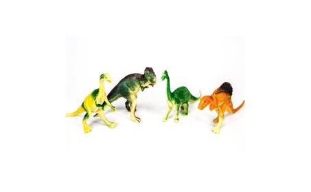 "12 Pack of Assorted Realistic Medium Sized 4-5"" Inch Plastic Dinosaurs 721cb724-bda9-4fe8-8772-fc80df0f6754"