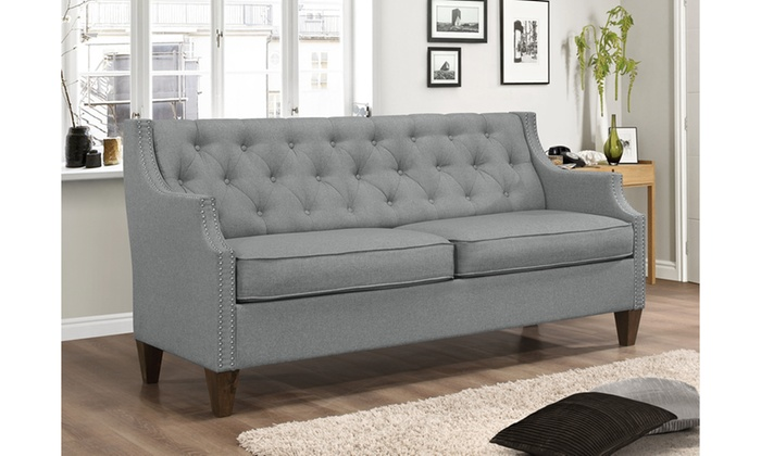 Celine Modern and Contemporary Sofa, Loveseat, or 2-Piece Set