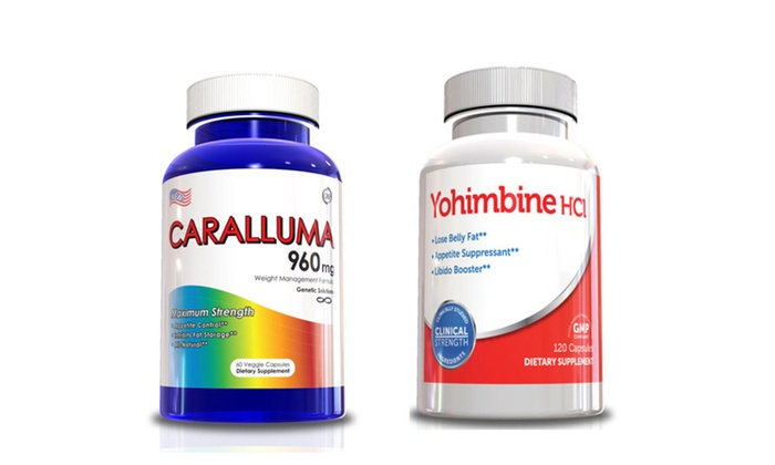 Buy It Now : Weight Loss Product - Caralluma Fimbriata & Yohimbine HCL for Men