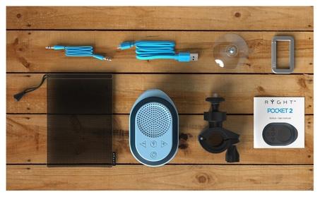 Ryght POCKET 2 Bluetooth Waterproof Portable Outdoor & Shower Speaker feb12007-f417-4ee4-aee3-6374eefaae0a