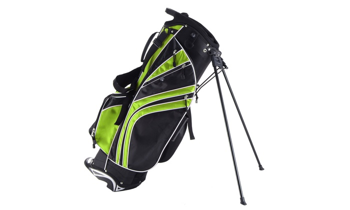 6d20432f55e8 Golf Stand Cart Bag Club w/6 Way Divider Carry Organizer Pockets ...