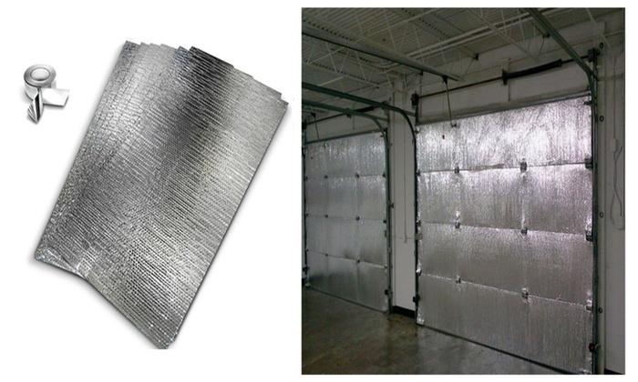 New reach barrier garage door insulation kit groupon new reach barrier garage door insulation kit solutioingenieria Images