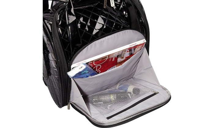 32781b483ff6 Travelon Luggage Wheeled Underseat Carry-On With Back-Up Bag