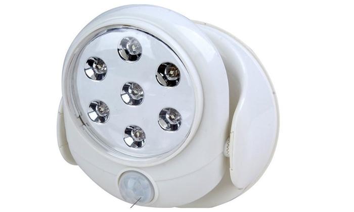 Superior Outdoor Garden Motion Activated Cordless Sensor 7xLED Light