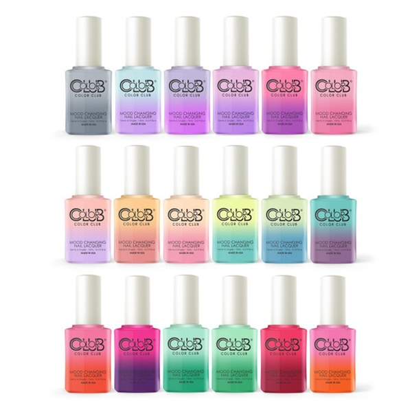 Color Club In The Mood Pastels Collection Mood Changing Nail Lacquer ...
