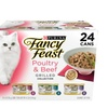 Purina Fancy Feast Grilled Gourmet Variety Pack Wet Cat Food, 24 count