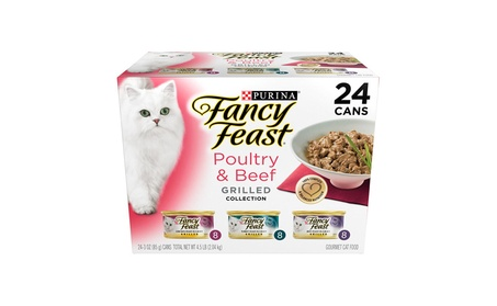 Purina Fancy Feast Grilled Gourmet Variety Pack Wet Cat Food, 24 count 869ac424-1bd3-42f8-bae7-80c884114646