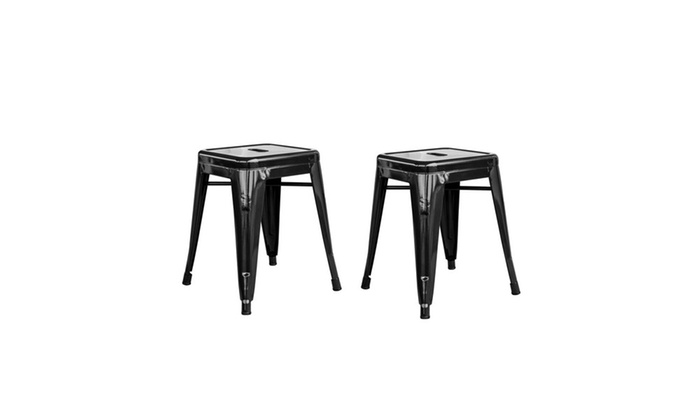 18 Inch Stackable Stools