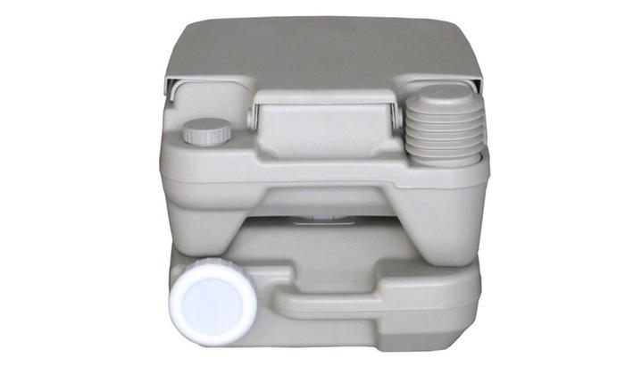 Portable Boat Toilet : L portable outdoor camping toilet flush porta travel vehicle