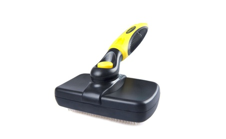 Pet Grooming Brush - Self Cleaning Slicker Brushes Shedding Tools 94b6206f-116f-42a2-98c0-2adebbdfb148