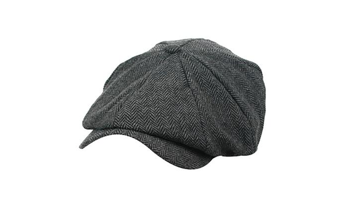Pop Fashionwear Unisex Warm Classic Newsboy Style Hat 803HC