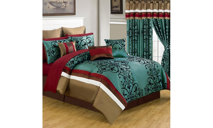 Up To 28% Off on Lavish Home 24- or 25-Piece R... | Groupon Goods