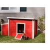 New Age Farm ECHK103-B-RD ecoFLEX Fontana Chicken Barn Red