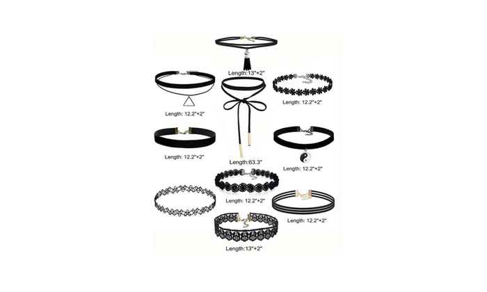 Women s Vintage Black Lace Vintage Choker Necklaces Women s Vintage Black  Lace Vintage Choker Necklaces ... 0b4a57fd9