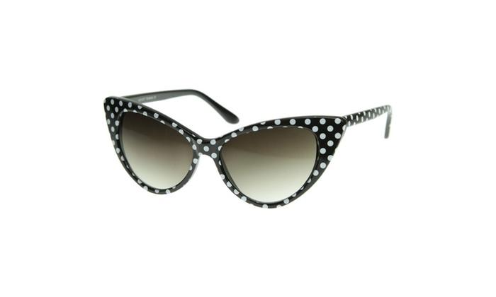 MLC Eyewear 'Dotty' Cat eye Fashion Sunglasses