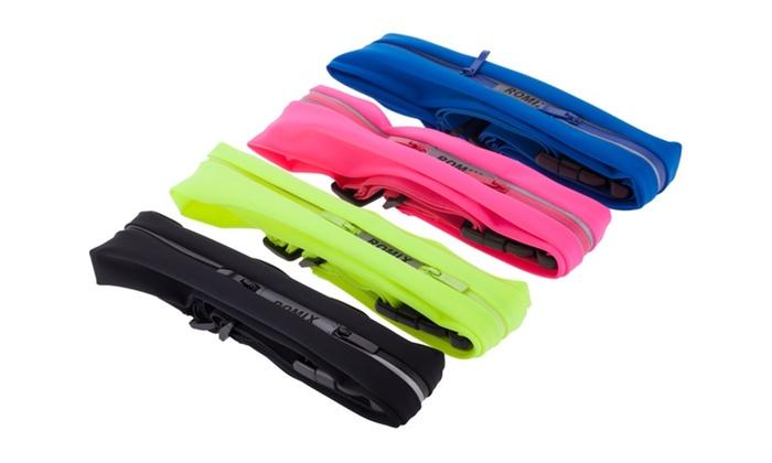 Sport Waist Bag Double Waterproof Running Belt Pouch
