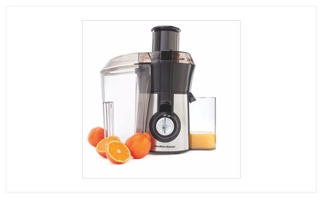 Brand New Hamilton Beach Big Mouth Juice Extractor- Model number 67608 photo