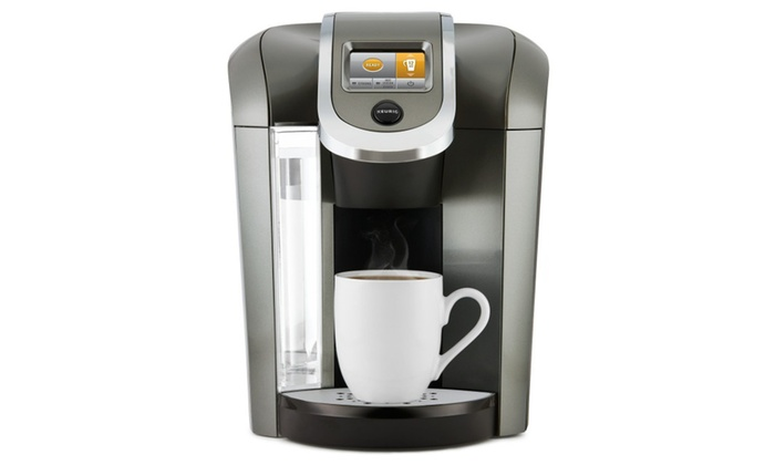 Keurig K575 Single Serve Programmable K Cup Coffee Maker With 12 Oz